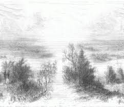 how to draw a beautiful scenery step by drawing of nature drawings scenes pencil 1024x995 jpeg