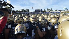 navy team pregame