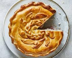 Ham Leek Potato Pie Recipe Bbc Good Food