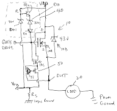 Diode large size patent us20060006851 power switching circuit with active cl drawing explain zener
