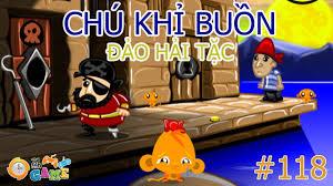 Game Chú Khỉ Buồn 118 | Choi game Chu khi buon dao hai tac