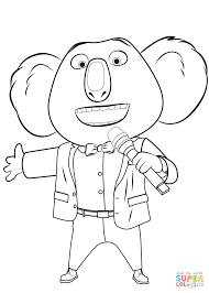 Small Picture Buster Moon from Sing coloring page Free Printable Coloring Pages