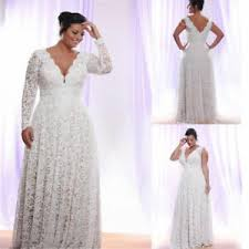 Wedding Dress Plus Size Chart Details About Plus Size Wedding Dresses With Removable Long Sleeve Beach Lace Bridal Gowns