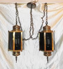 Vintage Mid Century Light Fixtures Double Hanging Pendent Light Fixture Vintage Mid Century 6