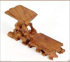 Wooden Display Stands For Figurines Hard Wood Crafted 100 Tiers High Low Display Stand For Teapot Cup 71
