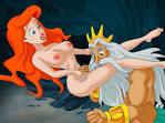 Мультфильм русалочка, ариэль занимается сексом