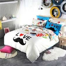 bed sheets for teenage girls. Mustache Bedding For Teen Girls Gentleman Funny Cute Blue And White Bed Sheets Teenage Girls E
