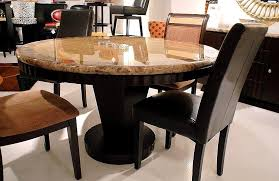delightful dining table base granite top ideas round stone with regard to plan 5