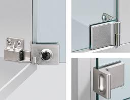 glass door hinges do it yourself