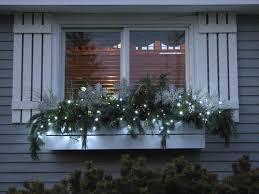 Christmas Window Love The Lights But Id Add In Red