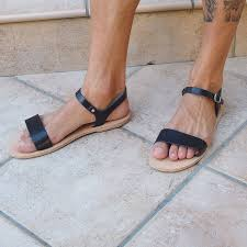 means leather strap sandals mens strap sandals