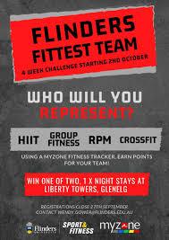 Group Fitness Challenge Tracker Flinders Fittest Flinders University Sport And Fitness