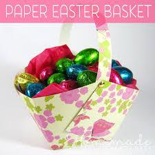 paper easter basket instructions