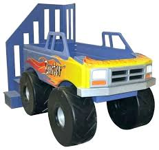 monster truck bed frame monster truck bed frame loft traditional kids by on back to gallery monster truck bed
