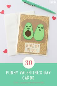 Valentinsday Card 30 Best Punny Valentines Day Cards First For Women