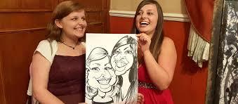 wedding enternment caricatures