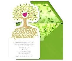 Printable Family Reunion Invitations Family Reunion Invites Samples Simplyplay