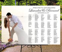 Digital Seating Chart Wedding Photo Seating Chart Personalized Printable Digital Seating Chart Wedding Table Assignment Photo Seating Plan Custom