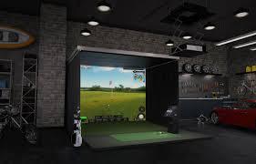 Golf Simulator Lighting Golf Simulator Charlotte Nc