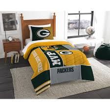 green bay packers nfl personalized twin comforter