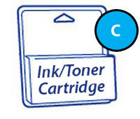 <b>Epson T6932 Cyan</b> Ink Cartridge - 350ml (T-Series)
