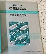 toyota celica in crankshafts 1990 toyota celica electrical wiring diagram service shop repair manual oem ewd