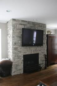 dry stack stone fireplace 02