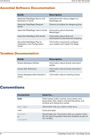 Datastage Designer Guide Ascential Datastage Oracle Oci Load Stage Guide Version