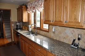 Backsplashes For Kitchens With Granite Countertops Fascinating Granite Countertops And Backsplash Designs Wonderful Interior