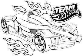 Team Hot Wheels Kleurplaat Gratis Kleurplaten Printen