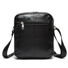 new genuine leather men briefcase balck solid small mens messenger bags famous brand mens shoulder bags bolsa masculina leather laptop briefcase black