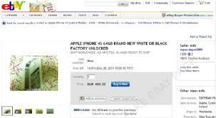 Ebay Offers Fake Site Iphone Cheap 4s