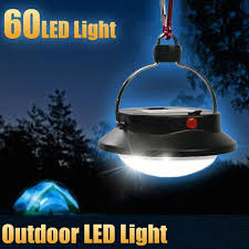 outdoor camping light 60 led portable tents umbrella night