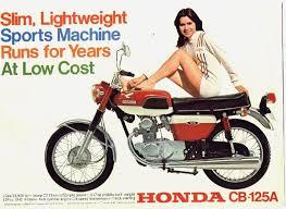 vintage honda motorcycle ads. Brilliant Vintage Vintage Honda CB125 Motorcycle Ad Cb1252jpg 700510 Bikes  Motors On Ads E