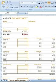 Use the status bar for simple counting in excel, or use functions to count cells that contain data, are blank use the countif function function to count how many times a particular value appears in a range of cells. Cashier Balance Sheet Is A Layout For You To Stay Informed Regarding The Cashier S Day By Day Money Ex Balance Sheet Template Balance Sheet Cash Flow Statement