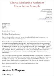 Marketing Cover Letter Template Dew Drops