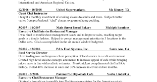 Cook Resume Cook Resume Objective Club Chef Sample Resume Chefs
