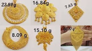 Gold Locket Design In Nepal Big Pendants Designs With Weight In Gold