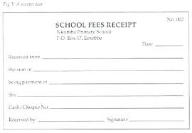 fee receipt format manual invoice template adventurebooks club