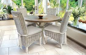 image of rattan dining chairs outdoor