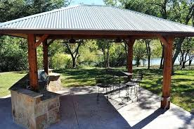 covered outdoor kitchen custom photo sharing area plans