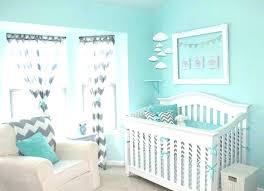 blue and grey nursery gray decor 9 aqua chevron bedding pink crib