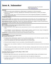 systems administrator resume sample entry level resume example entry level