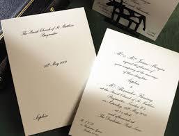 Traditional Wedding Invitation Classic Traditional Wedding Invitation