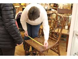 chair caning artisan comes to the little traveler in geneva on july 8 for furniture repair