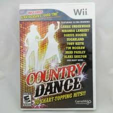 Country Dance 30 Chart Topping Hits For Nintendo Wii