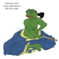 rare pepe memes — ninja warrior pepe via Relatably.com