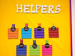 Classroom Design Ideas 2 get your students excited about pitching in with an adorable helpers wall