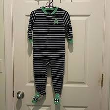 kids the boy in the striped pajamas theme on poshmark carter s baby boys footed pajamas size 24 months