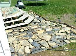 flagstone patio installation luxuriant stone pa build ideas raised flagstone pa flagstone patio over concrete slab